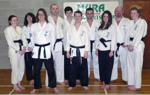 Some of the clubs Black Belts