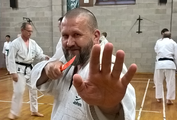 Sensei John, Sunday night training