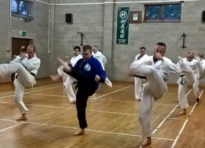 Sunday night at Karate