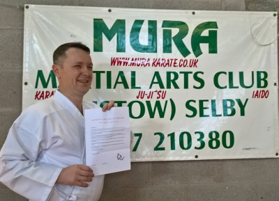 Mark Drake to be inducted into the UK Martial Arts Hall of Fame